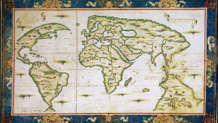 The much-disputed Dieppe maps, dated 1536-1566, were commissioned for wealthy and royal patrons.