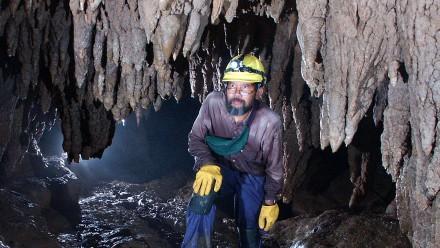 WahyoeHantoro Liang Luar Cave, Flores. Image Garry K Smith.
