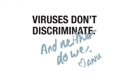 Viruses don't discriminate, and neither do we