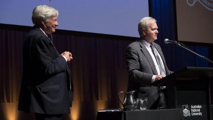 Geoffrey Robertson AC QC and Professor Schmidt