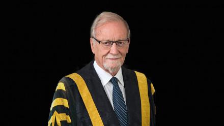 Chancellor Professor The Hon Gareth Evans AC QC
