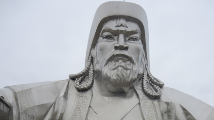 Statue of Ghenghis Khan, near Ulaanbaatar, Mongolia, Image: Dr Jack Fenner, ANU