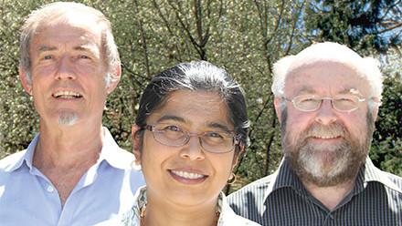 Professor David Hinde, Professor Keith Fifield and Professor Mahananda Dasgupta