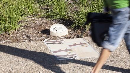 Lindsay Pryor ceramic paving. Image supplied.