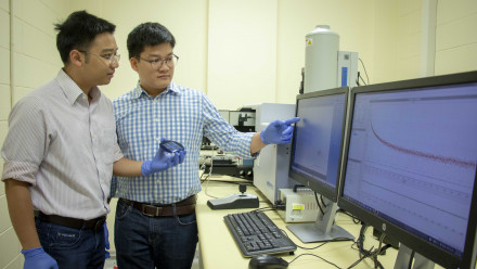 Dr Hieu Nguyen and Mr Thien Truong