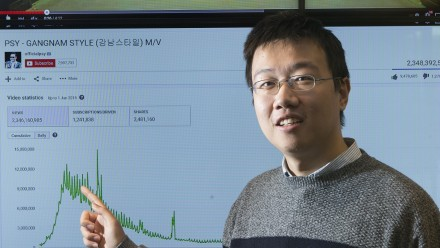 ANU PhD student Honglin Yu.