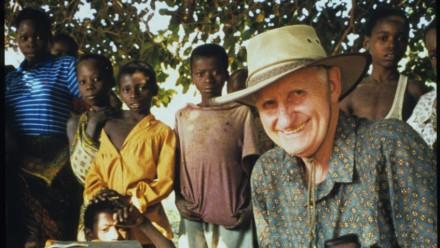 Professor Howard Bradbury in Mozambique. Image: Supplied.