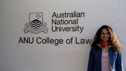 ANU Juris Doctor student Hansika Chopra