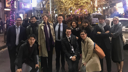 Event organisers and volunteers from the Australia-Japan Research Centre and the ANU Japan Alumni Network