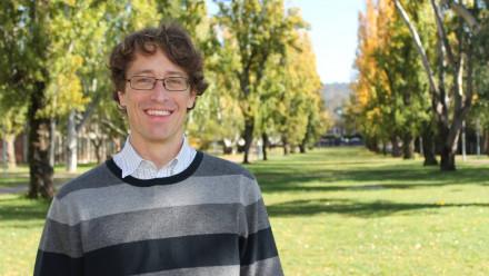 Photo of Associate Professor John Pye. Image credit: ANU