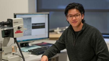ANU Postdoctoral Fellow Dr Josh Chu-Tan