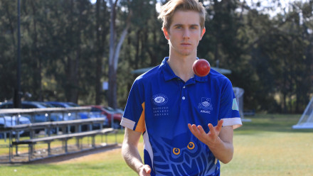 Lewis Evans is the 2018 recipient of the ANU Cricket Club Scholarship