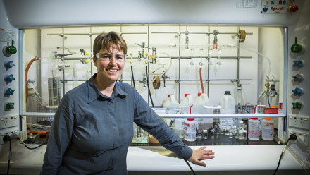 Professor Michelle Coote has been awarded the Royal Australian Chemical Institute's 2021 Leighton Memorial Medal. Credit: ANU