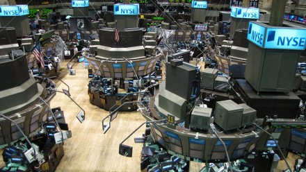 The New York Stock Exchange. Image courtesy Kevin Hutchinson on flickr.