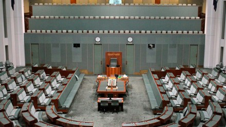 The House of Representatives. Photo courtesy of Travis on flickr.