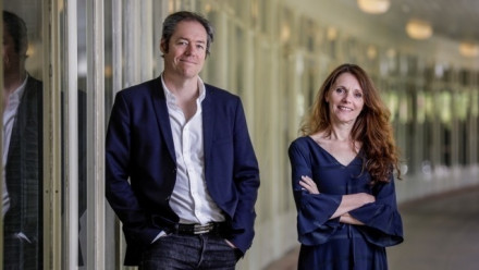 Professor Martin Thomas and Dr Béatrice Bijon