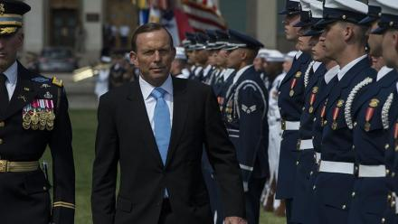 Prime Minister Tony Abbott. Image by Ashton Carter on flickr.