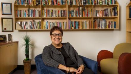 Distinguished Professor Aileen Moreton-Robinson (BA '89)
