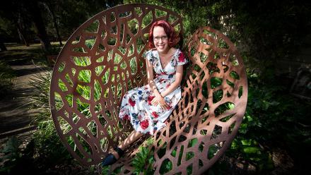 Rebecca Randall. Image Stuart Hay.