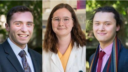Marcus Dahl, Emily Rowland and Matt Goh have won 2020 Rhodes Scholarships to study at Oxford.