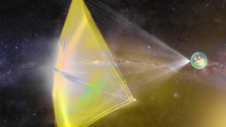Starshot light-sail. Credit: Breakthrough Initiatives