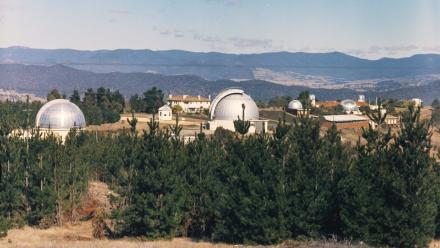 Mount Stromlo in the 1950s.