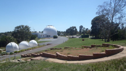 The site of the new observatory. Image Geoff McNamara