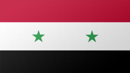Syria flag by Steve Conover on flickr.
