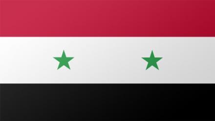Syria flag by Steve Conover on flickr.