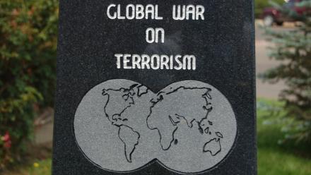 Terrorism memorial plaque. Image by Matt Lemmon on flickr.