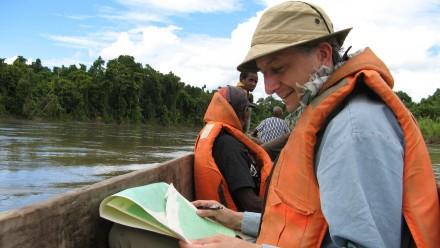 Dr Tim Denham in Papua New Guinea: Image TIm Denham