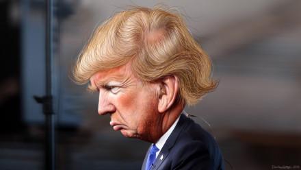 Donald Trump. Image: DonkeyHotey, Flickr