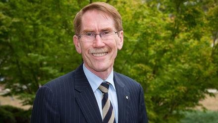 ANU Vice-Chancellor Professor Ian Young. Photo by Stuart Hay.