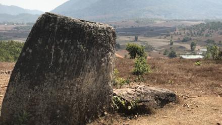 Jar in Xiengkhouang Province, Laos. Image: ANU