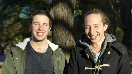 Sebastian and Nick Harrison, founders of OzGuild