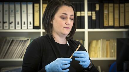 Dr Michelle Langley. Image: Stuart Hay, ANU.