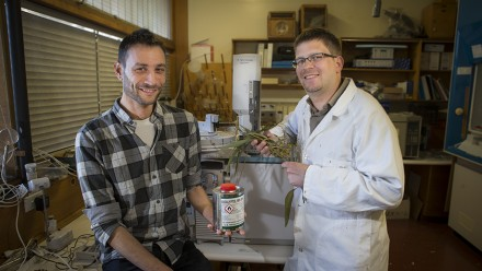 David Kainer and Dr Carsten Kulheim