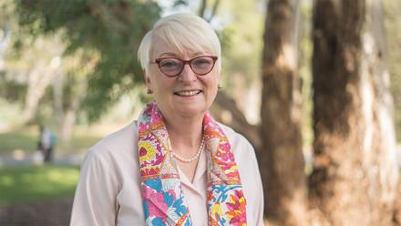 Barbara Miles, Vice President (Advancement)