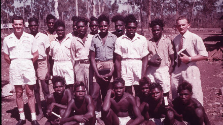 Angurugu Bible Class 1951. Image: Groote Eylandt linguistics, Keith Hart Collection.