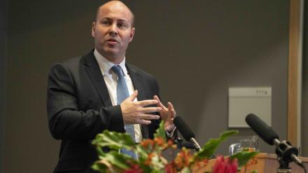 Treasurer Josh Frydenberg. Image: Lannon Harley, ANU