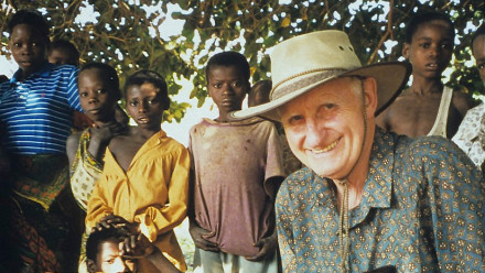 Howard Bradbury in Mozambique