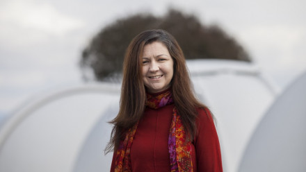 Professor Lisa Kewley. Image credit: Jamie Kidston, ANU