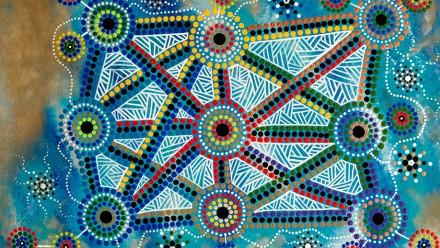 Image: Wiradjuri Artist Lani Balzan.