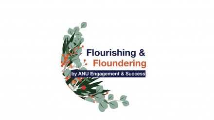 Flourishing and Floundering Podcast cover design