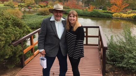 Don Brownbill and Rhianna Hampton-de Vries