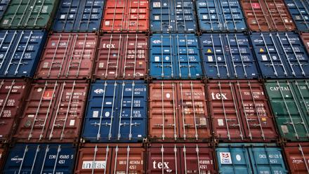 Shipping containers. Image by Håkan Dahlström on flickr.