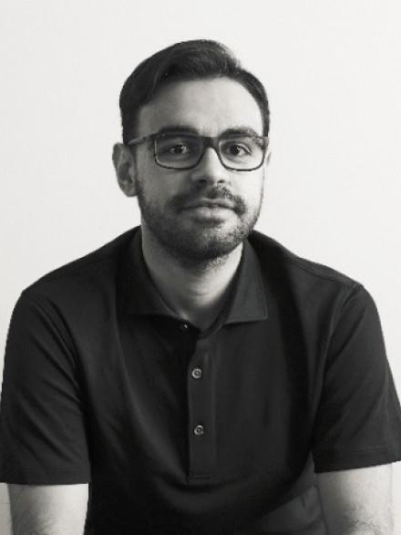 Frank Gafa black and white portrait photo