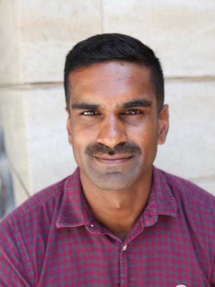 Yohan Iddawela close-up portrait