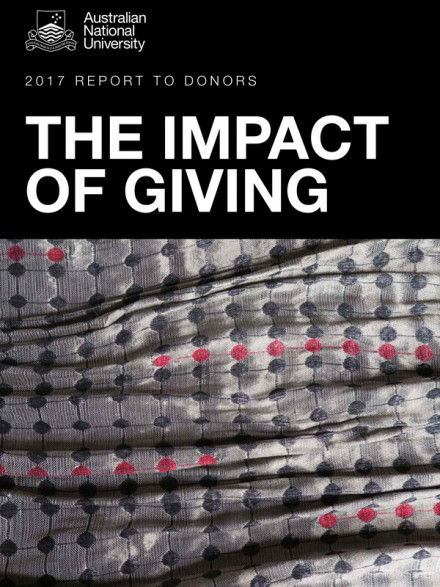 The impact of giving cover image