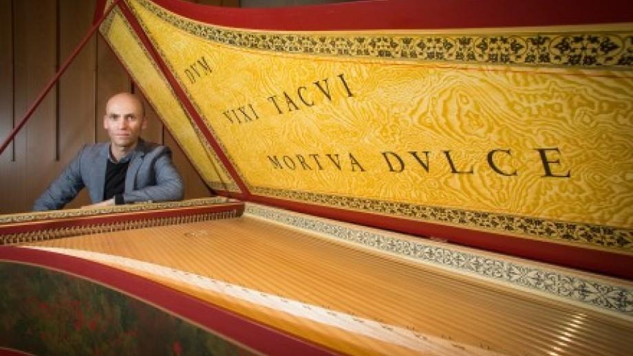 Photo of antique piano